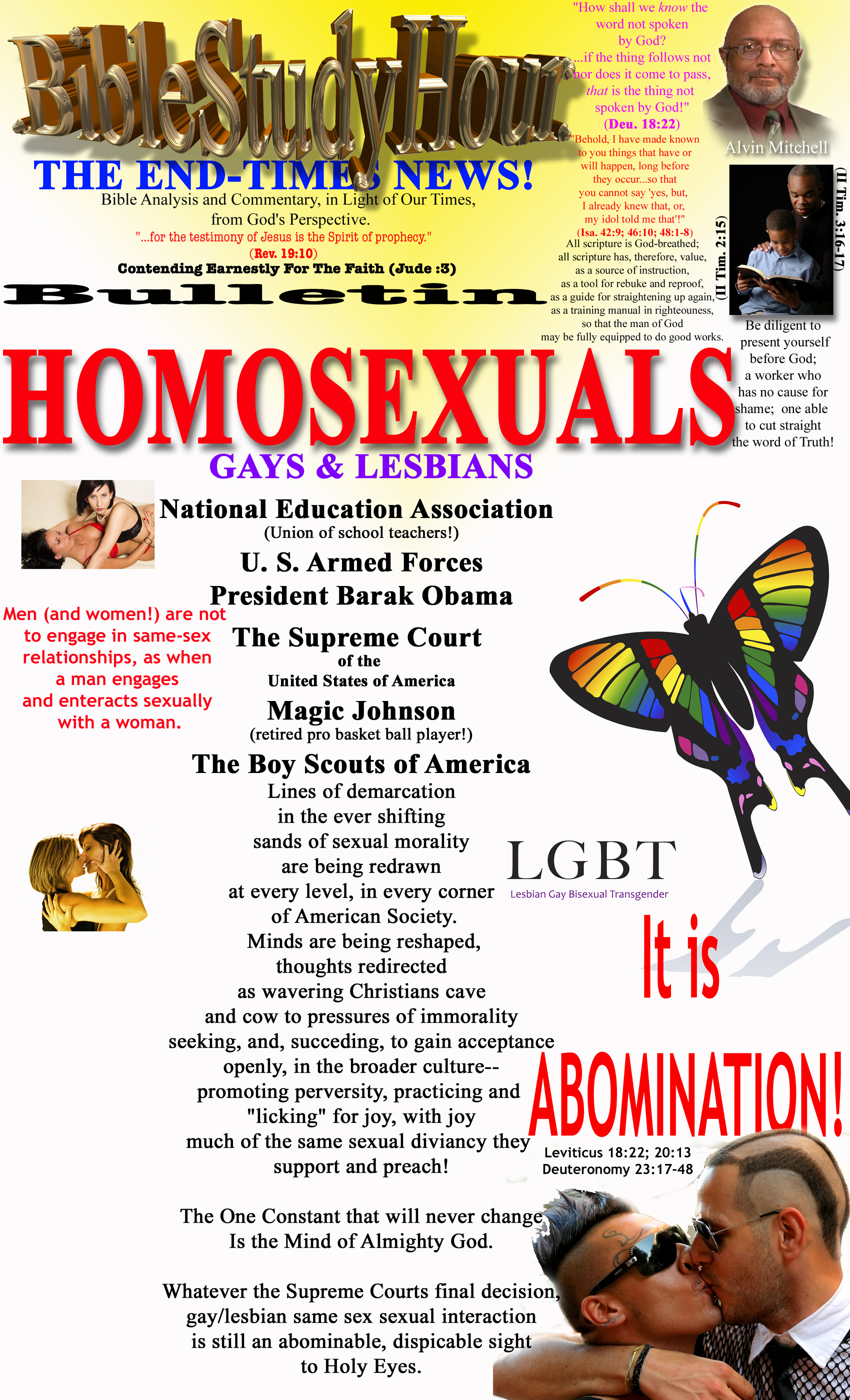Bible Verses about Homosexuality - Bible Study Tools